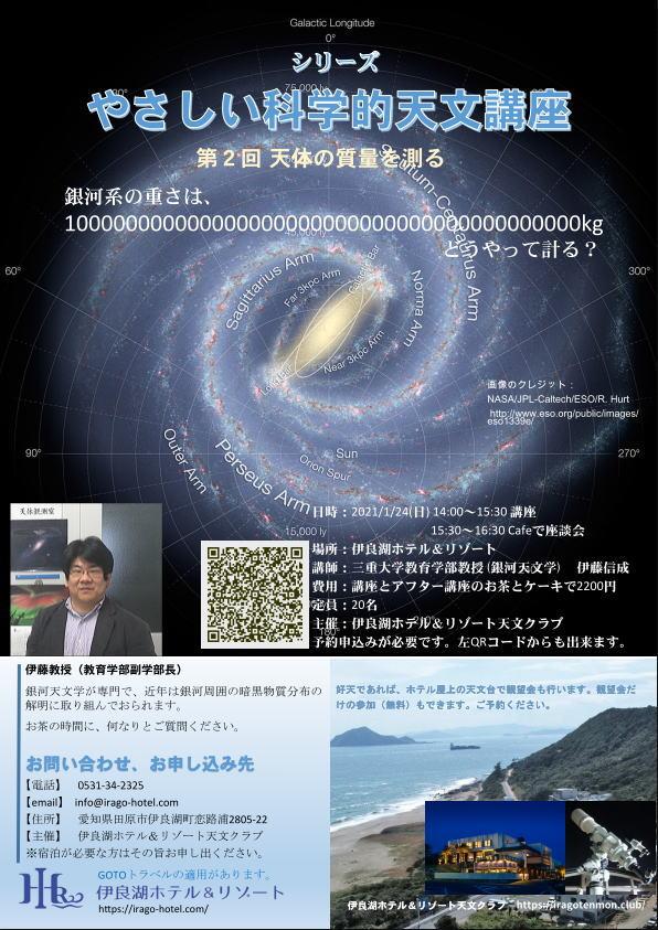 やさしい科学的天文講座 第2回天体の質量を計る